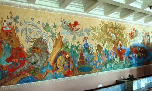 Alexander Sergeyevich Pushkin, Pushkin Cape, Fairy-tale town