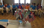 Подведение итогов работы. Пресс-конференция Детской ассамблеи ООН в «Артеке»