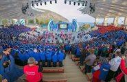 Открытие фестиваля ГТО