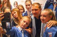 Открытие II Международного юношеского медиафорума «Артек»
