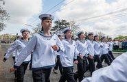 Парад, посвященный 74-й годовщине Победы в Великой Отечественной войне 1941-1945 гг. в городах-героях Севастополе и Керчи