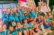 Открытие Международного детского кинофестиваля «Алые паруса «Артека»