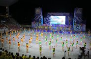 Открытие XXVI Международного детского кинофестиваля «Алые паруса «Артека»