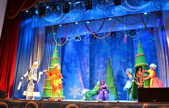 Новогодний утренник, театрализованное представление «Зимняя сказка 2020»