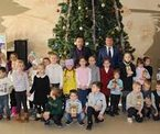 Новогодняя ёлка для учащихся МБОУ «Краснокаменская СШ»