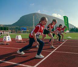 С бега на 60 метров в «Артеке» началась спортивная программа комплекса ГТО