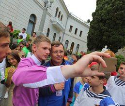 Артековцы обсудили итоги смены с Константином Федоренко