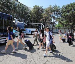 В детском центре стартовала девятая смена «Артек» собирает друзей»