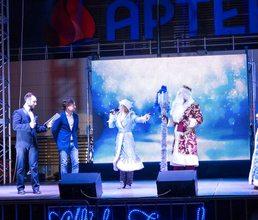 Новогодний праздник для учеников школы «Артека» и ребят Гурзуфа