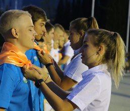 В детских лагерях «Артека» прошли церемонии открытия смены