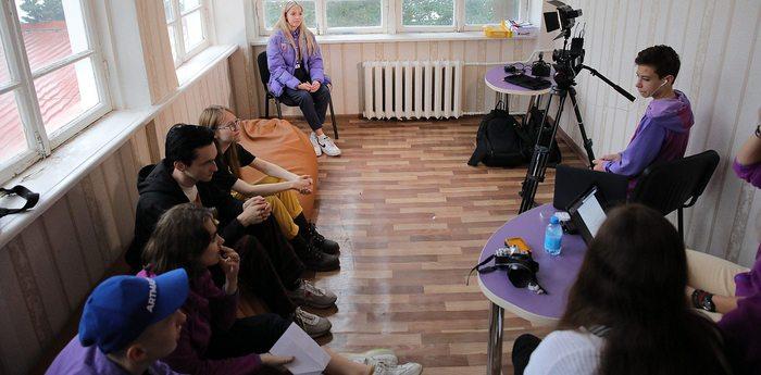 Участники программы ArtMasters готовятся к съемкам фильма в «Артеке»