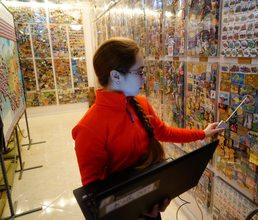 Артековцы изучают физику в музее магнитов