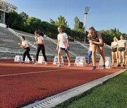 В «Артеке» прошли соревнования по легкой атлетике