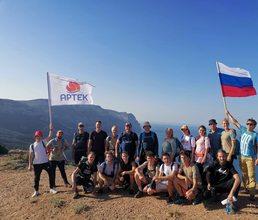 Стартовала первая экспедиция «Артека» по Большой Cевастопольской тропе