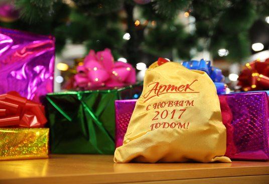 Первые новогодние сюрпризы, первые вкусные подарки!