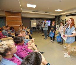 В «Артеке» проходят «Классные встречи РДШ»