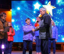 Награды участникам артековской смены вручил легендарный космонавт