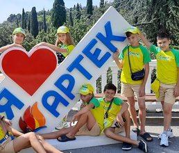 В детских лагерях прошли церемонии открытия смены «Большая перемена Артека»