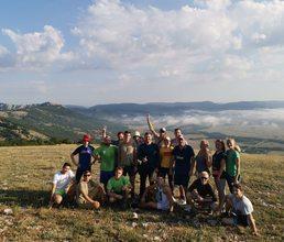 Третий день экспедиции туристов «Артека». На пути к Узундже и Передовому