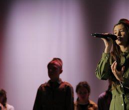 В «Артеке» прошел конкурс военной песни