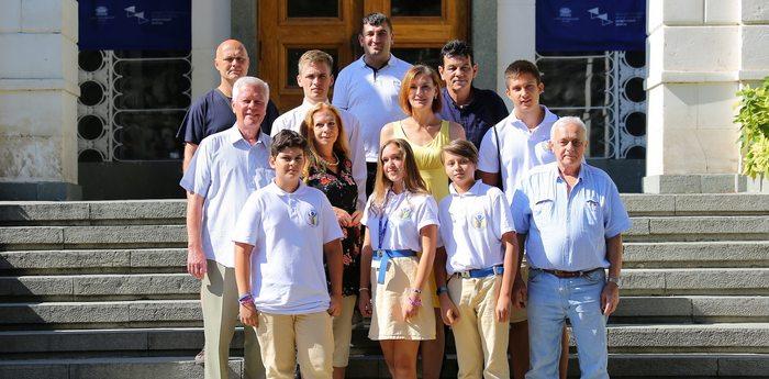Чешская делегация из «Артека»: «Мы строим мосты и ломаем барьеры»