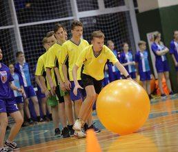 В «Артеке» прошла спортивная игра «Спортландия»
