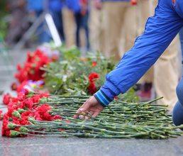«Артек» со всей страной смотрит трансляцию Парада Победы в Москве