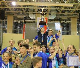 Артековцы «Морского» стали победителями Малых Олимпийских игр в «Артеке»