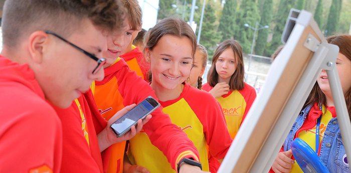Игра-зачёт для активистов РДШ прошла в «Артеке»