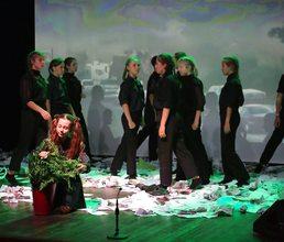 В «Артеке» прошли театральные премьеры