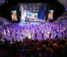 Музыкально-хореографическое шоу «Россия - морская держава» стала ярким финалом 10 смены