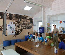 «Почта России» проводит тренинги и мастер-классы для артековцев