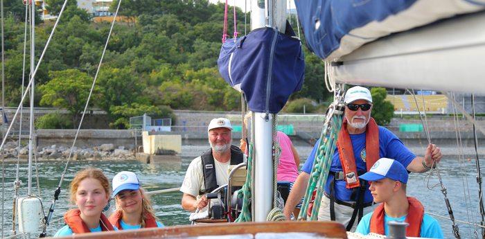 Артековцы изучают морское дело в рамках образовательной программы «Росморпорта»