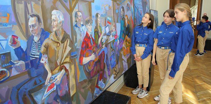 В «Артеке» открылась выставка «Полуостров культуры»