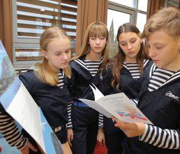 В День Республики Крым в «Артеке» прошел необычный урок «10 чудес Крыма»