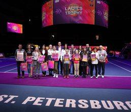 Лучшие теннисисты «Формулы успеха» награждены путевками в «Артек»