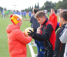 Фестиваль футбола объединил юных футболистов «Артека»