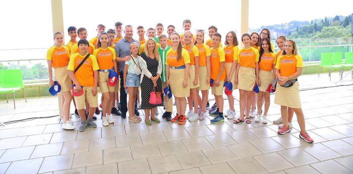О роли детской дипломатии артековцам рассказала «посол доброй воли» Екатерина Лычева