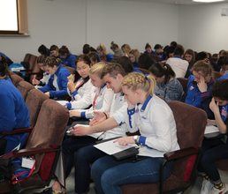 Молодые педагоги «Артека» приняли участие во всероссийском «Вожатском диктанте»