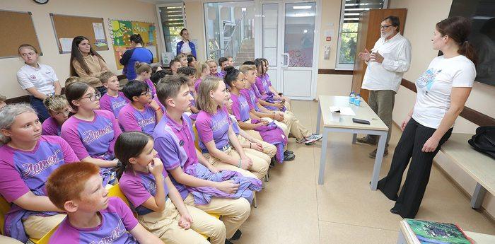 В «Артеке» проходят мастер-классы по программе «Планета Океан»