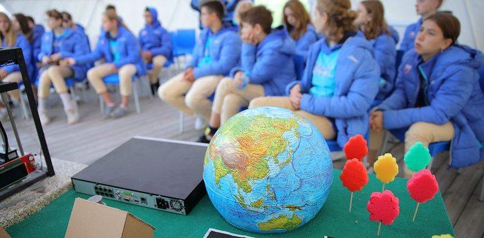 Юные исследователи изучают науку о Земле