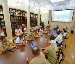 В «Артеке» подвели итоги первой экспедиции по Большой Севастопольской тропе