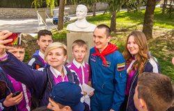 """12 апреля 2016 г. День космонавтики в """"Артеке"""""""