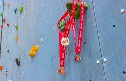 Первые общеартековские соревнования по скалолазанию