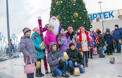 Артековские ёлки-2017 для детей Крыма